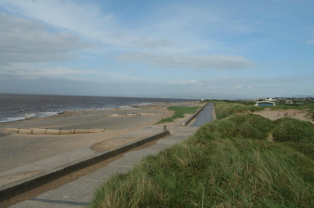 Photograph of beach on the Fylde peninsula