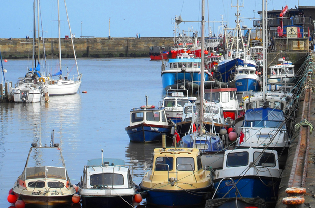 English fishing port