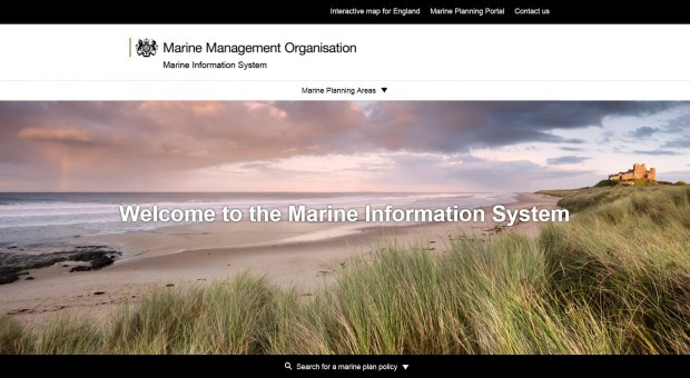 Marine Information System (MIS) website