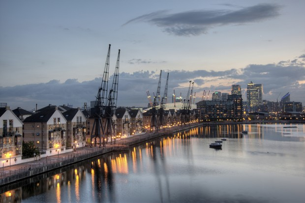 Thames tidal area