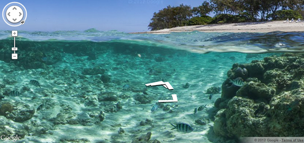 Google Ocean sea view