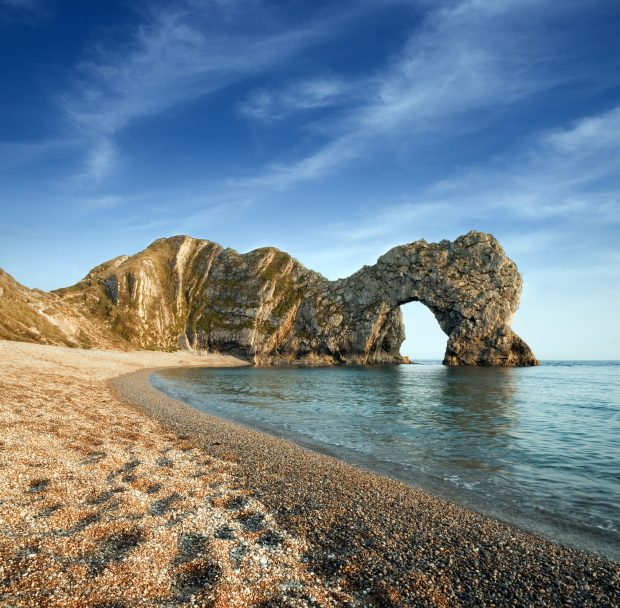 Late evening at Durdle Door