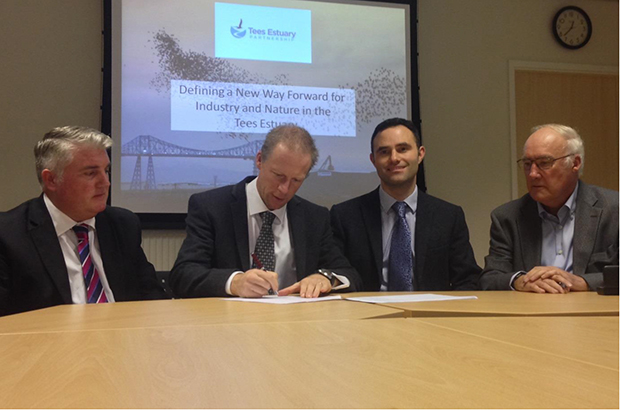 Tees Estuary partnership MOU