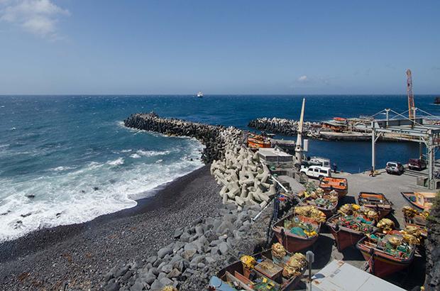 Tristan da Cunha harbour