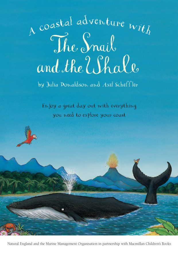 A coastal adventure with The Snail and the Whale booklet
