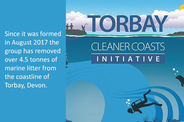 Torbay Cleaner Coasts Initiative post