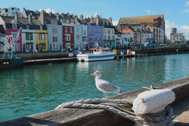 Custom House Quay at Weymouth Harbour