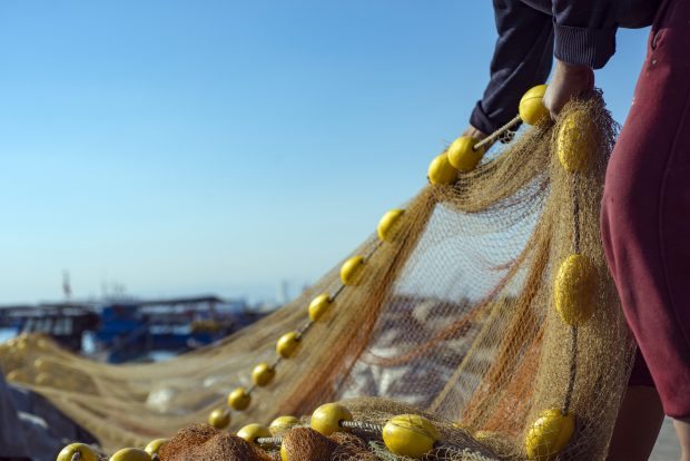 Image of fishing nets