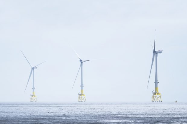 Windfarms at sea